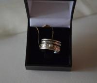 """Кабала пръстен """"Божия защита"""", сребро с хризоберил"""